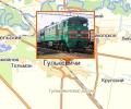 Железнодорожная станция Гулькевичи