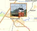 Железнодорожная станция Кореновск