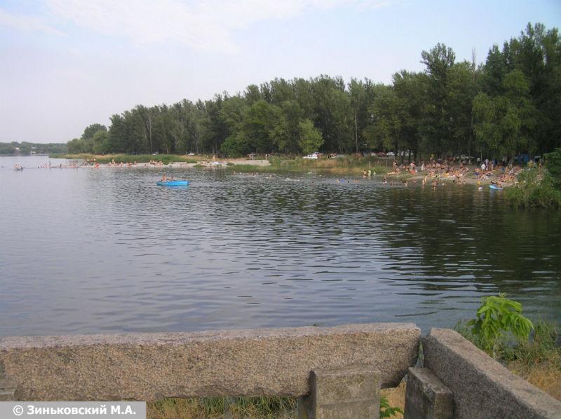 Пляж ростовское море 8