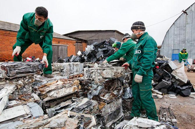 Утилизация опасных отходов и вывоз бытовой техники в Ростове на Дону