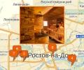 Где находятся сауны в Ростове-на-Дону?