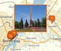 Памятные места Волгограда