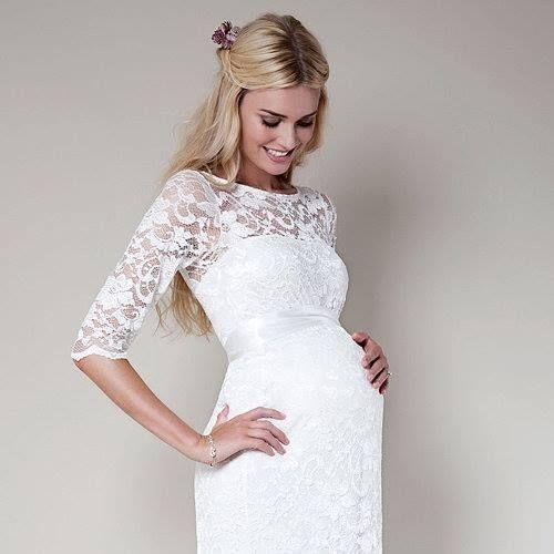 Свадебные беременных невест в свадебных платьях