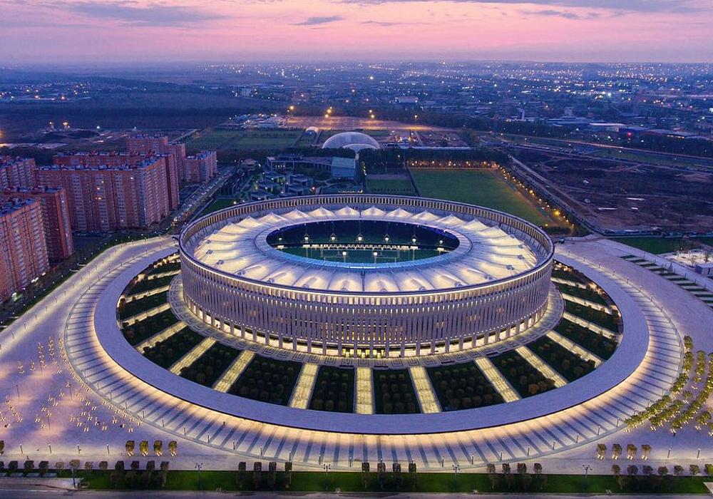 Крупнейшие спортивные комплексы и стадионы Краснодара