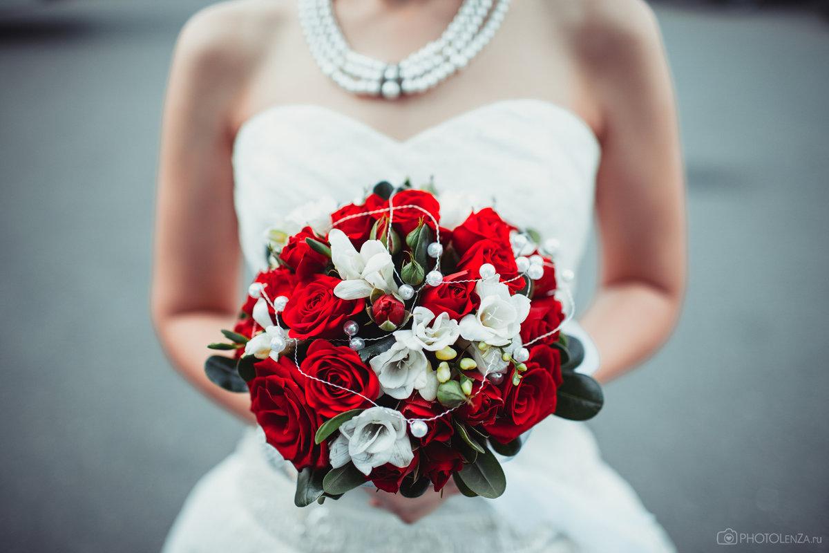 Купить свадебный букет для невесты в Симферополе