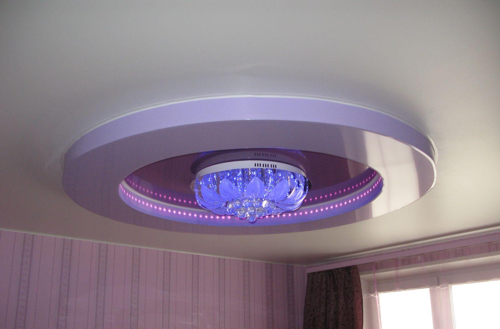 Как выбрать люстру для натяжного потолка в Симферополе?